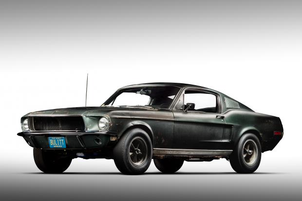 Steve Mcqueen S Original Mustang Bullitt Found After
