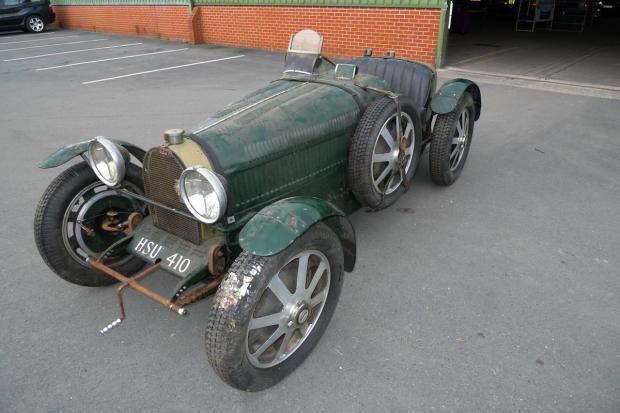 Brightwells To Sell Barn Find Bugatti