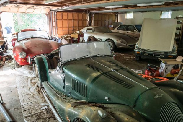 Amazing Barn Find Haul Includes Rare Ferrari 275 GTB