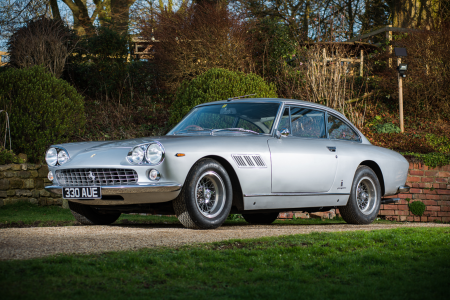 Super-rare 1965 Ferrari 330 GT 2+2 up for auction