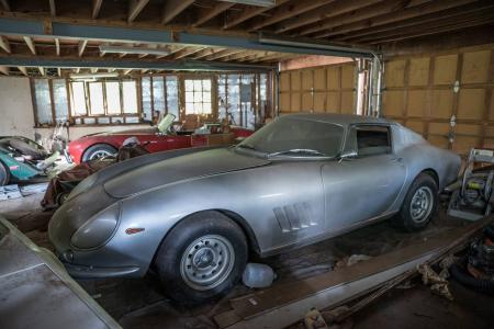 Amazing barn-find haul includes rare Ferrari 275 GTB