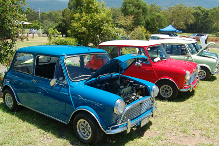 Minis shine at Australia's Minis in the Gong event