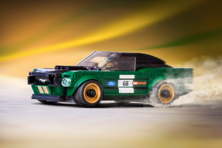 Lego's '68 Mustang Fastback is a brilliant blocky classic