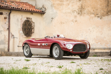 Ex-Mike Hawthorn Ferrari 625 Targa Florio Vignale added to Monaco sale