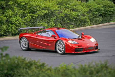 For Sale: Ultra Rare McLaren F1 With Le Mans Spec Engine