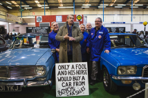 Boycie stars at Shepton Mallet classic show