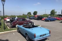 Dozens of classics scale Botley Hill – Classic & Sports Car