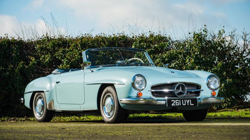 Celebrity cars and more up for auction at Race Retro 2018