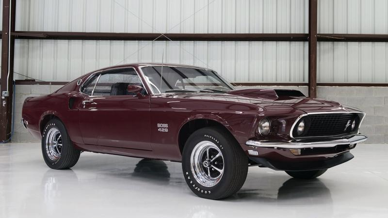 Nascar Engined Ford Mustang Boss 429 To Sell At Auction