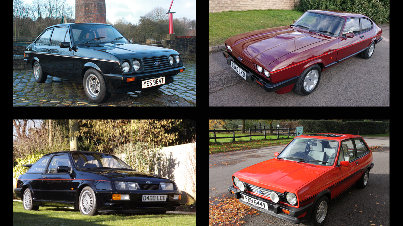 Fast Fords head to auction | Clic & Sports Car