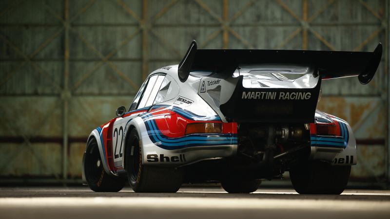 Le Mans Podium Porsche 911 Carrera Rsr 2 1 Turbo In