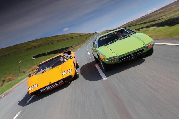 Countach Vs Pantera Chasing The Ultimate Thrill Classic Sports Car
