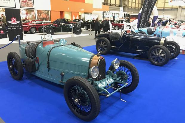 Spectacular Bugatti Display Heralds Golden Year At Classic Motor