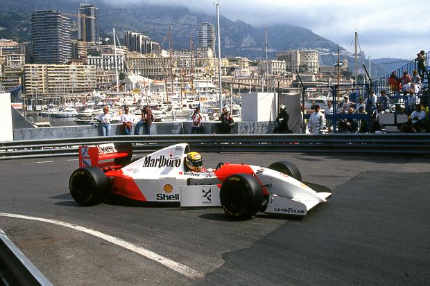 Ayrton Senna S F1 Winning Mclaren Up For Auction Classic Sports Car