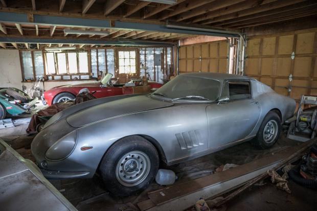 Amazing Barn Find Haul Includes Rare Ferrari 275 Gtb
