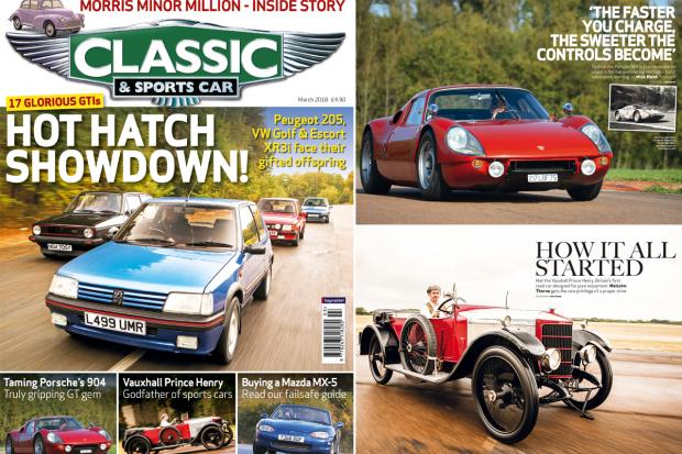 Unmissable Features In The March Issue Of CSC Classic - Classic and sportscar magazine