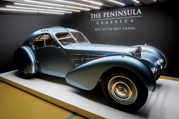brand new 07eb9 5a6f5 1936 Bugatti Type 57SC Atlantic wins Peninsula Classics Best of the Best  Award