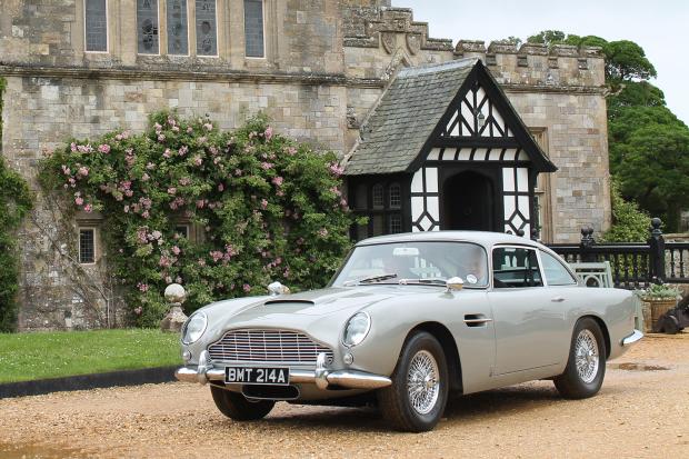 James Bond S Goldeneye Db5 Set For 1 2m Sale Classic Sports Car