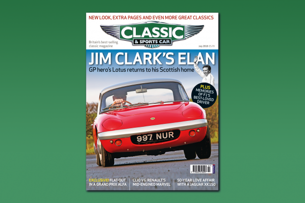 Classic & Sports Car – Celebrating Jim Clark: Inside the July 2018 issue of C&SC