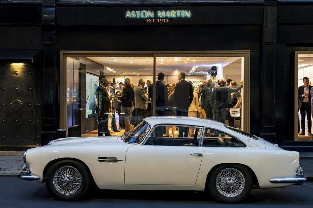 Classic U0026 Sports Car U2013 Aston Martin Opens Classic Mayfair Showroom