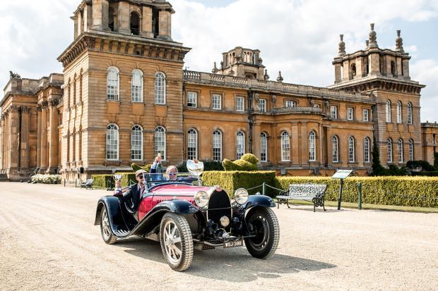 Bugatti Is Best Of Show At Salon Priv Classic Sports Car