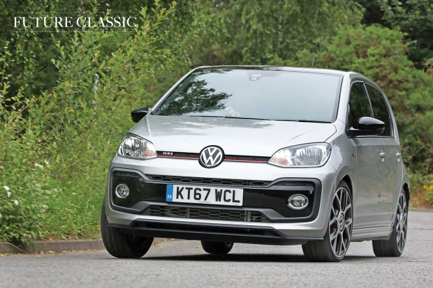 future classic volkswagen up gti classic sports car. Black Bedroom Furniture Sets. Home Design Ideas