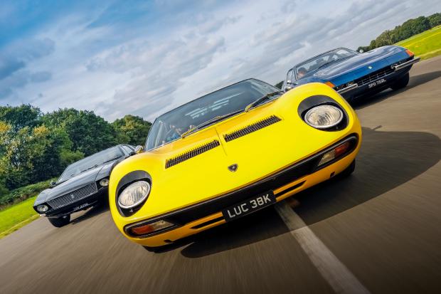 Battle Of The Supercars Miura Vs Daytona Vs Mangusta Classic