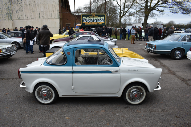 Classic & Sports Car – Highlights from the first Bicester Heritage Sunday Scramble of 2019