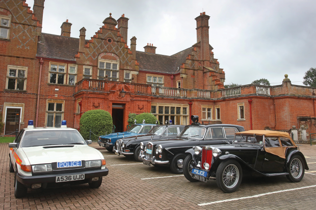 Inside The UKs Finest Private Collection Of Classic Police Cars