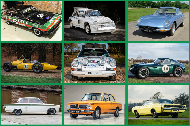 12 Exciting Cars At Silverstone Auctions Autosport Sale Classic