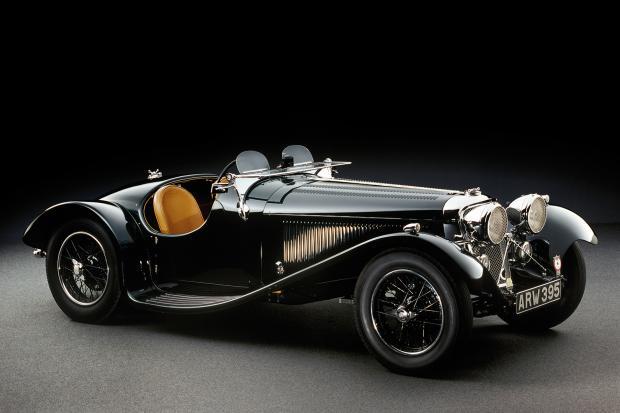 First Jaguar Sports Car Leads Incredible Big Cat Sale Classic