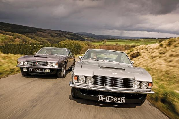 An injection of pace: fuel-injected Aston Martin DBS vs its V8