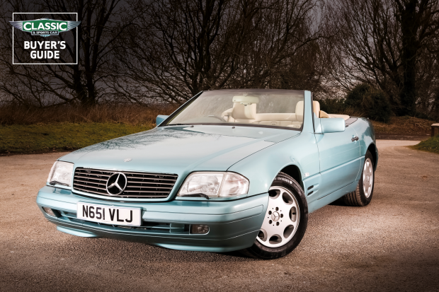mercedes benz sl r129 buyer s guide what to pay and what to look for classic sports car mercedes benz sl r129 buyer s guide