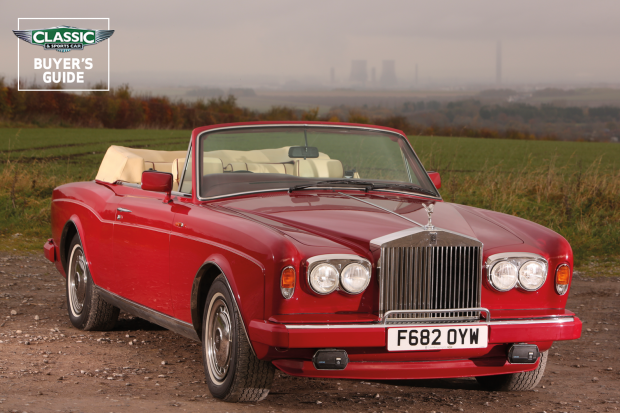 Rolls Royce Corniche Buyer S Guide What To Pay And What To Look For Classic Sports Car