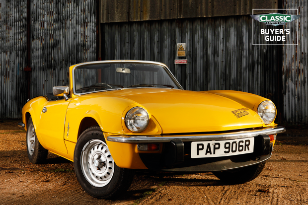 Triumph Spitfire Buyer S Guide What To Pay And What To Look For Classic Sports Car