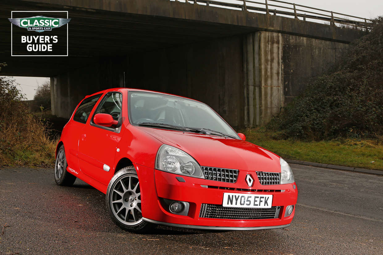 Renault Clio 172 182 Buyer S Guide What To Pay And What To Look For Classic Sports Car