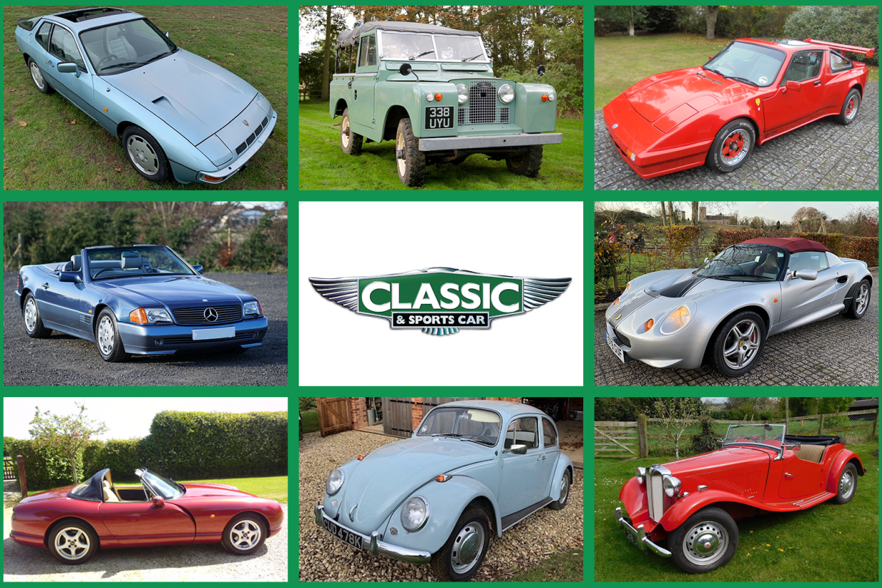 Classic & Sports Car – 10 classics for £10k in next month's CCA sale