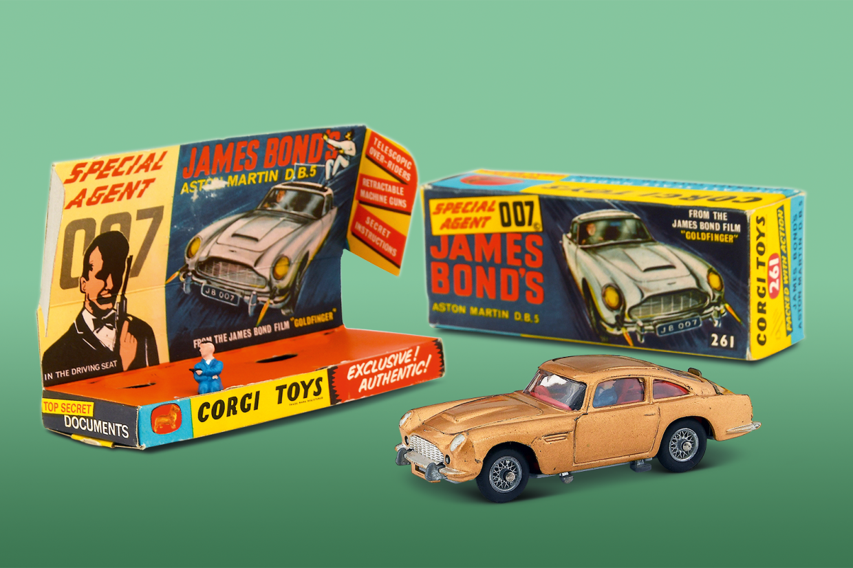 When Corgi Struck Gold The Story Behind The Greatest Toy Ever Classic Sports Car