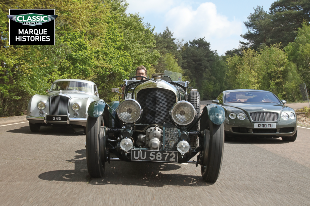 Classic & Sports Car – The story of Bentley: from Blowers to Speed 8 and beyond