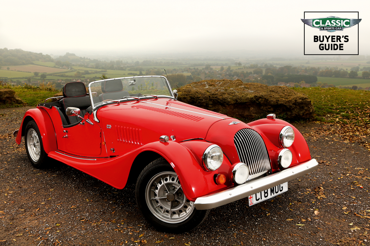 Morgan Luxury Car : The car, which arrives in australia in a year's time, is priced at £78,000 (5.