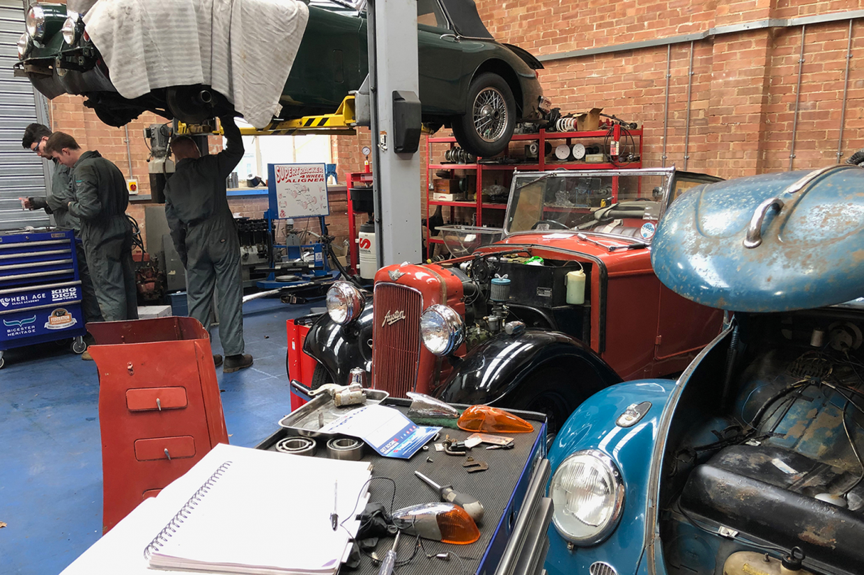 Classic & Sports Car – Lifeline launched to aid apprentices during COVID-19 crisis