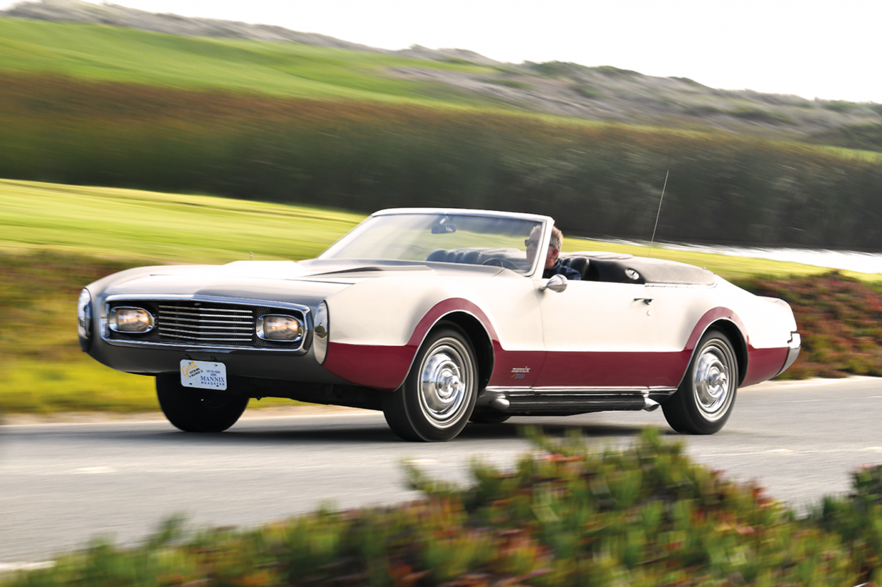 Classic & Sports Car – Mannix Oldsmobile Toronado: the least undercover cop car ever?