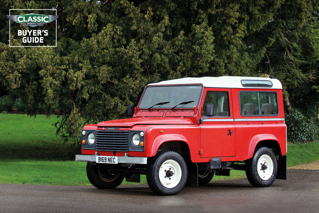 Land Rover 90 110 And Defender Buyer S Guide What To Pay And What To Look For Classic Sports Car