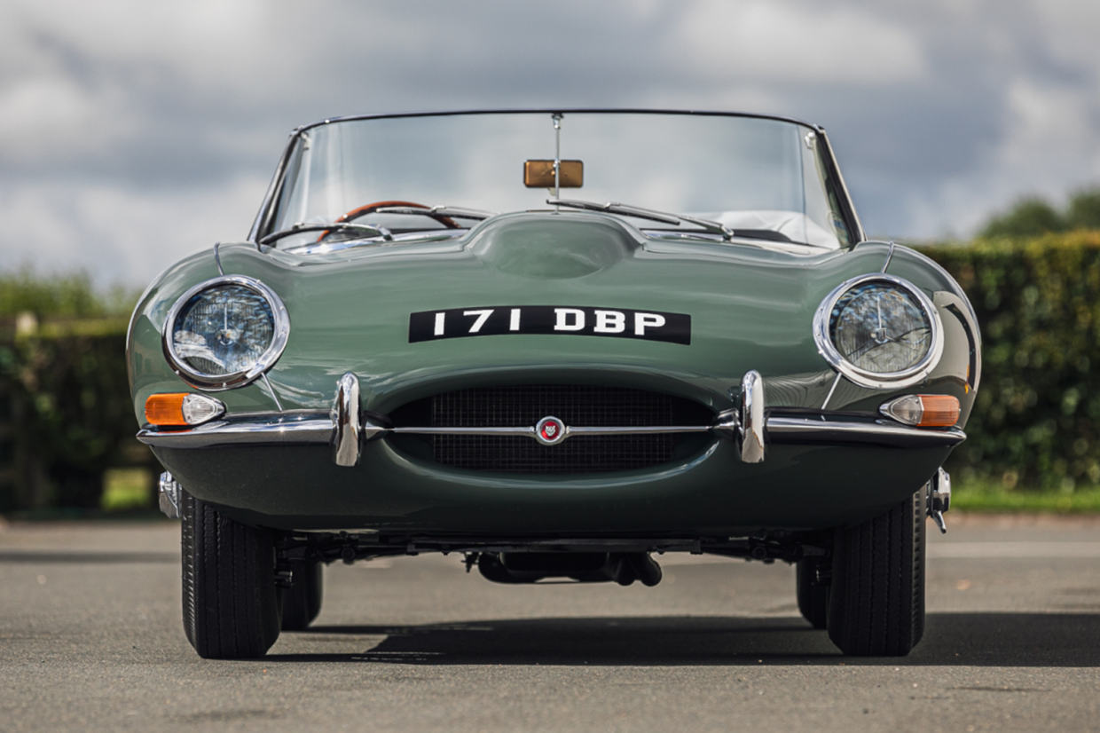 Aha Want To Own Steve Coogan S Super Early Jaguar E Type Classic Sports Car