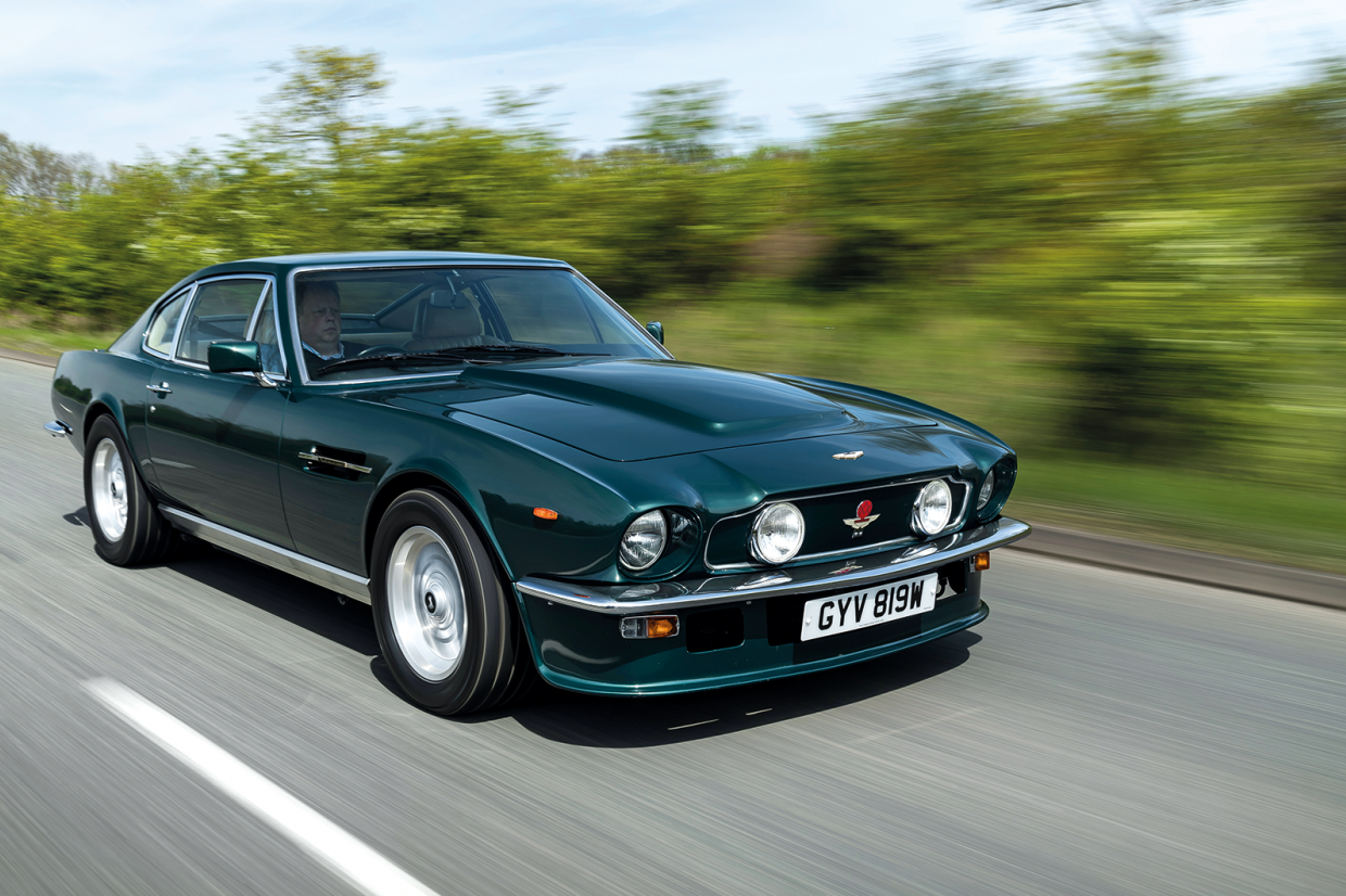 Advantage Aston Martin Driving The V8 Vantage Classic Sports Car