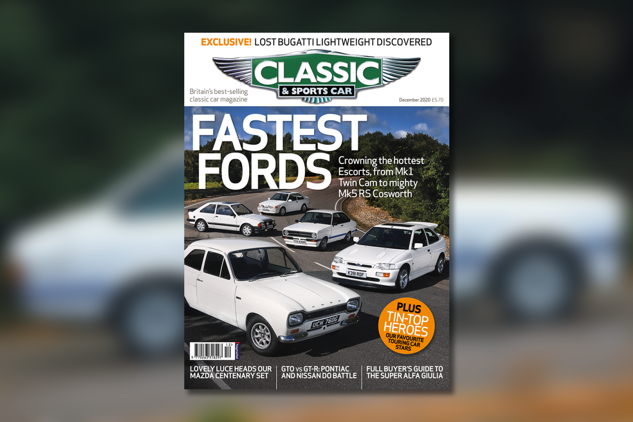 Fastest Fords Inside The December 2020 Issue Of C Sc Classic Sports Car