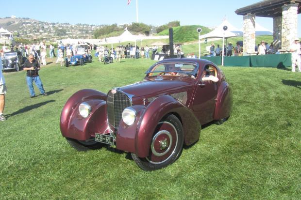 Bugatti Takes Best Of Show At Palos Verdes Concours - Palos verdes car show