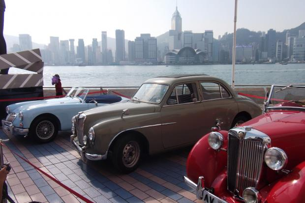 Mg Car Club Wows Crowds At Hong Kong S Cultural Centre