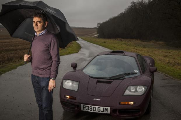 Rowan Atkinson S Mclaren Rebuild Classic Amp Sports Car
