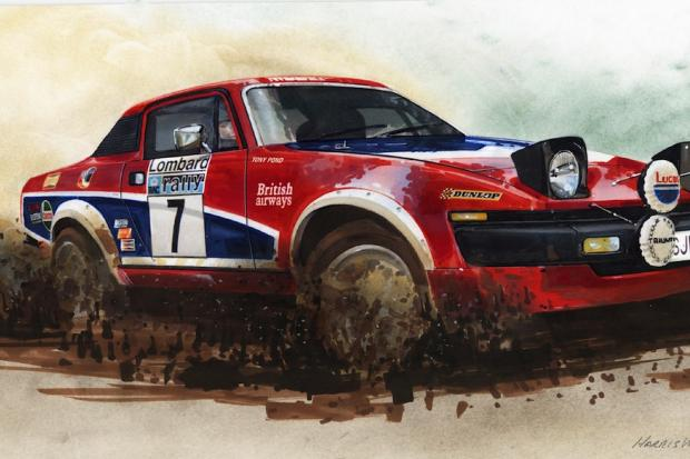 Limited Edition Triumph Prints From The Mann Who Styled The Tr7